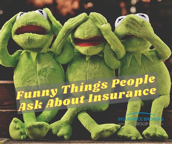 Funny things Insurance customer say